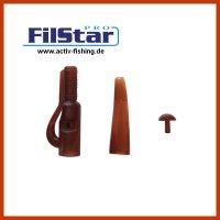 "5 x FILSTAR CARP"" Karpfenmontage Lead Clip With Lock..."