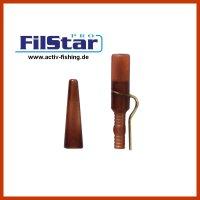 5 x FILSTAR CARP Karpfenmontage Lead Clip Inox + Tail Rubber