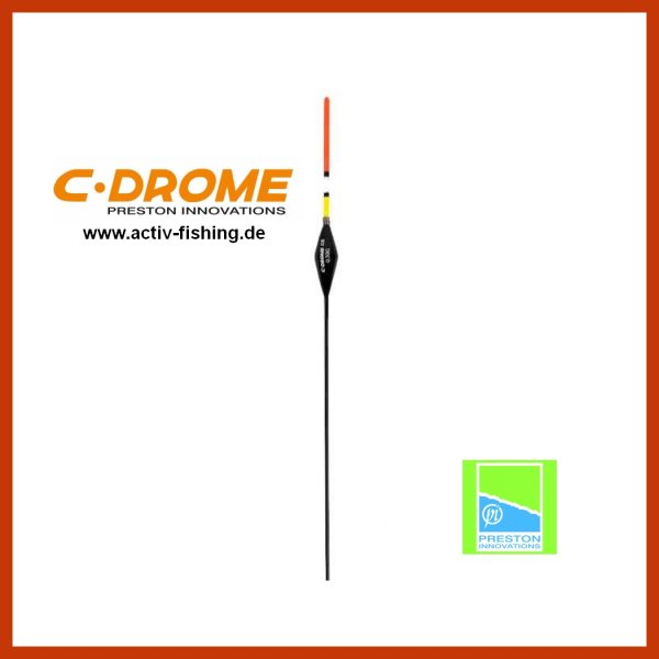 PRESTON C-DROME 08 Multicolor Karpfen Pose Stipppose Matchpose 0,30g-0,5g-0,75g