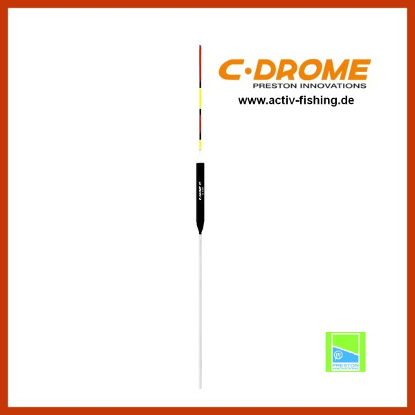 PRESTON C-DROME 07 Multicolor Karpfen Pose Stipppose Matchpose 0,50g / ca. 26,5cm