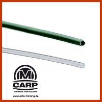 15 x 50mm MIVARDI SHRINK TUBE Schrumpfschlauch green/clear
