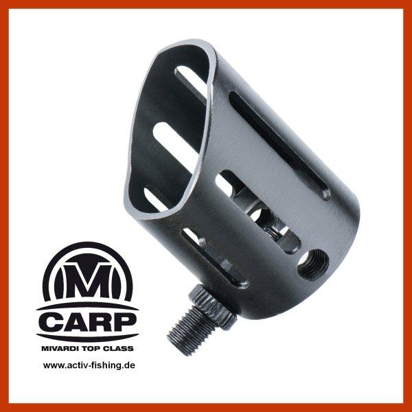 MIVARDI BUTT CUP REST Rutenablage stabiler Rutenhalter für Highpod aus Metall