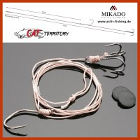 MIKADO CAT Welsmontage Waller Vorfach 1,25m/Ø1,0mm...