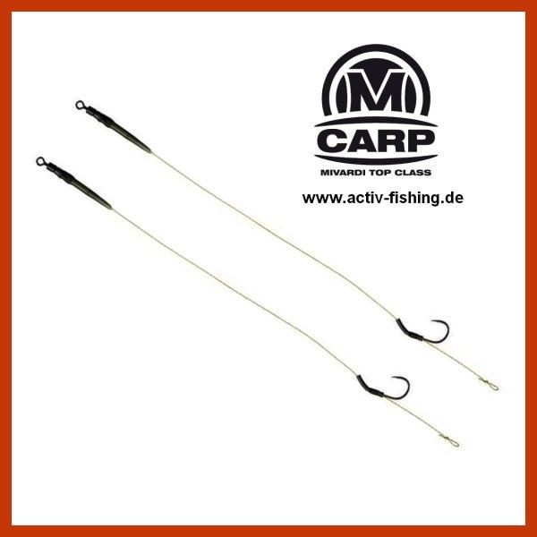 "10 x /""D-RIG Hooks/"" extrem stark geschmiedete PTFE Teflon Karpfenhaken Angelhaken"