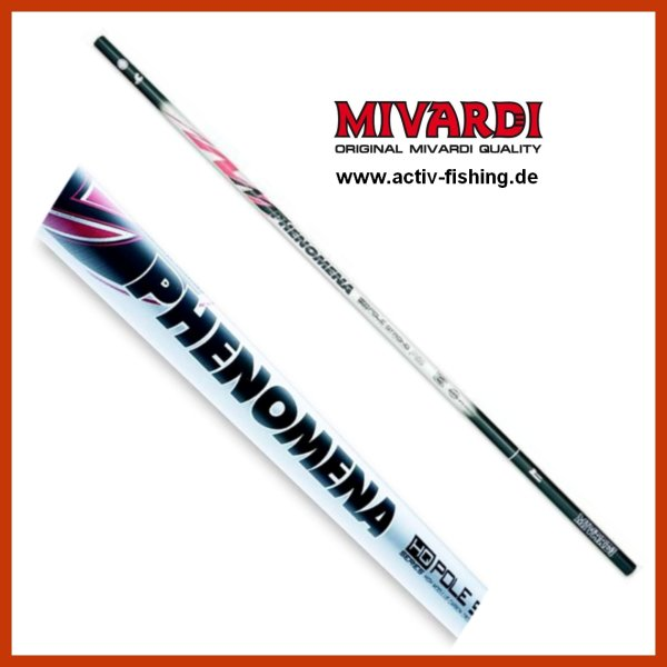 TEAM MIVARDI PHENOMENA schlanke SHMC60 Carbon tele Pole Stipprute 9,00m / 480g