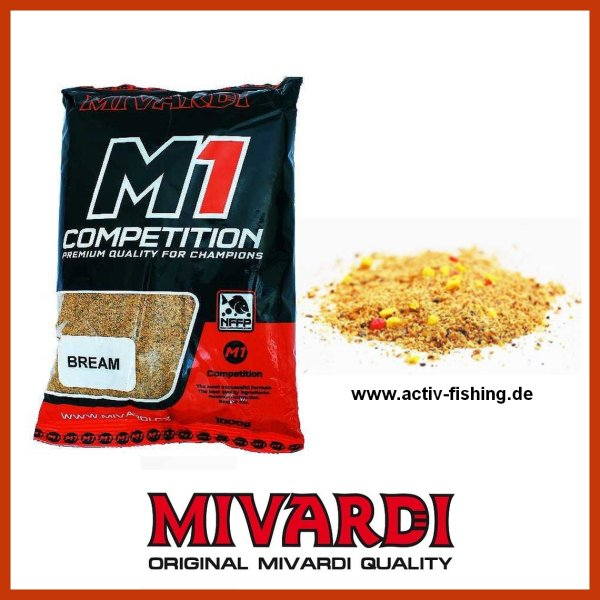 1kg TEAM MIVARDI M1 COMPETITION - BREAM  Matchfutter Feederfutter Grundfutter
