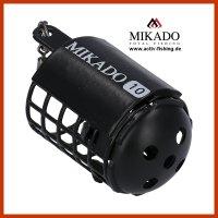 MIKADO kleiner schwarzer MICRO Futterkorb Ø25...