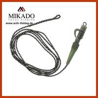 2x MIKADO LEADCORE SAFETY CLIP System mit Wirbel,...